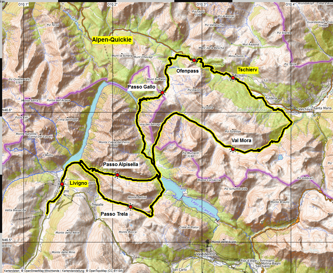 map albrecht alpen quickie open topo12