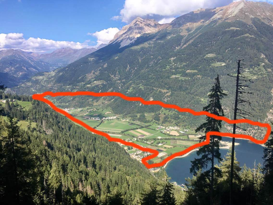 alta tension trail