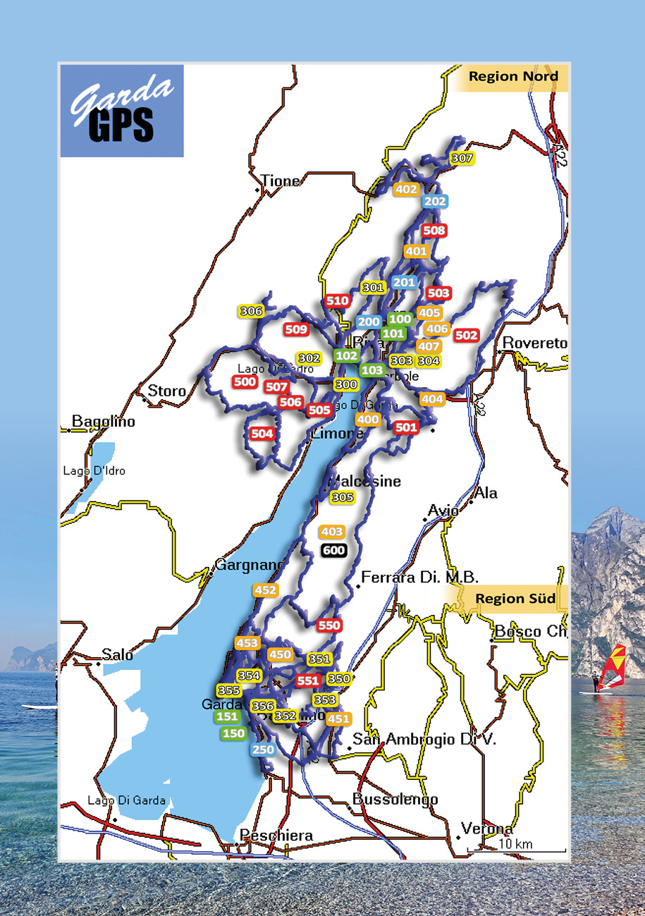 Tour overview Gardasee 1